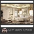 ترف سرير حجم الملك الاتجاه الأوروبية التقليدية غرفة نوم مجموعات