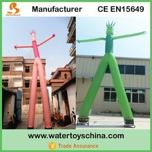 2015 New Product Pink Color Waving Inflatable Tube For Sale
