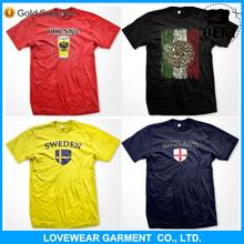 Hot sales cheap price custom 100% polyester mesh print sports t shirt