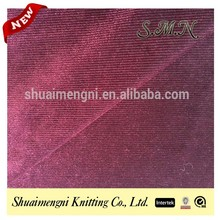 Fashionable korea velvet fabric made for jewelry case/casket