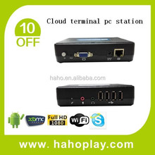 2015 best quality Multi User 4 ports USB ct200 Cloud terminal pc station