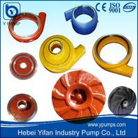 acid pump parts, rubber pump parts, ceramic pump parts