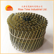 Supply common coil nails/coil framing nails