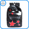 2015 Angel kiss washed pu backpack sport backpack with hat china suppliers backpacks in stock