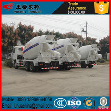 Customized new coming shacman white concrete mixer truck