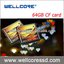 Factory Price high speed CF card compact flash card 64GB memory card full capacity
