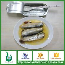 Conserve Sardine en huile végétale