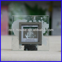 Beautiful Gifts Decoration, Spun Glass Plaque Ornaments