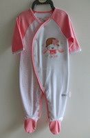 Fashion 100% Cotton comfortable new born baby romper, baby clothing