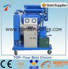 High oil dehydration and degasification transformer oil regenerati machine,improves the oil quality,environmental,easy operation
