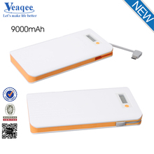 Veaqee super fast ultra slim power bank 10000mah portable mobile power bank,powerbank 10000mah,portable USB charger