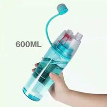 everest water bottle with spray plastic water bottle