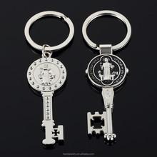 the Virgin Mary cross metal key chain , Mexico festival souvenir