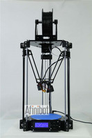 Afinibot 2015 newest Delta 3D Printer Rostock mini pro RepRap Replicator Machine with LCD Controller DIY Kit