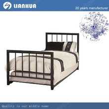Bed room furniture/school metal bed/single bed for adult