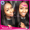 Invisible lace wigs 22inch natural color silk straight human hair wigs top quality Indian hair lace front wig
