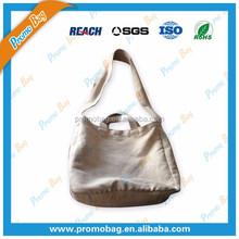 Natural Canvas Shoulder Bag Long Band Canvas Messager Bag