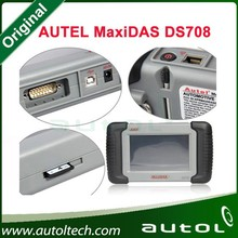 2015 Top-Rated Autel DS708 Supports Asian Euro American Russian Cars + multi Languages 100% Original Autel Diagnostic Scanner