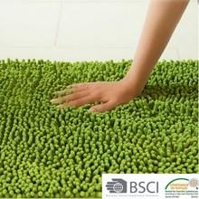 100% polyester microfiber custom size funny anti-slip bath mat