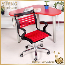 On sale Ergonomic office furniture office chair with wheels , moreden and hotestoffice chair with swivel