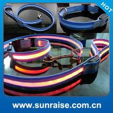 nylon illuminated dog collar