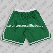 Sublimated basketball uniform design green