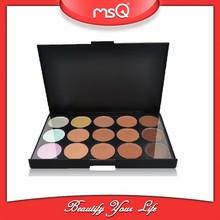 MSQ 15 Color Concealer Cream Palette for Makeup