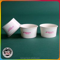 1oz to 38oz disposable yogurt Ice Cream paper bowl or cup