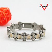 Mingfu custom engraved bracelet silver jewellery online