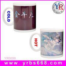Printing your logo amazing color change mugs wedding door gift ideas/2014 wedding door gift