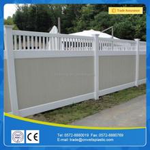Vinyl lattice fence panels design