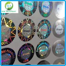 2015 High quality 3D hologram, customized hologram sticker, laser anti-counterfeit labels/anti-fake trademark