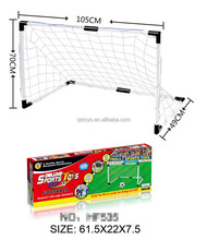 kids outdoor training fun ABS sport beach soccer goal with ASTM
