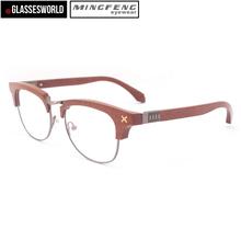 2015 Fashionable Eyewear Factory Wholesale in china Rare Wooded Optical Frame FW654