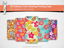 Wholesale Good Quality Hawaiian Design Plastic Phone Case For Iphone 5c.