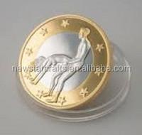 Hard enamel sex euro coins