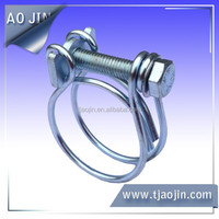 double adjustable wire rope clamp