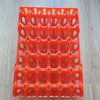 5*6 30 holes egg tray PE for packing and transportation Plastic egg tray