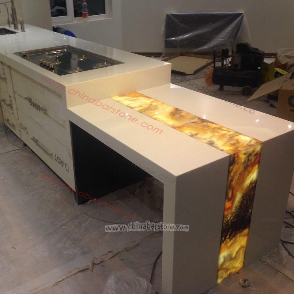 2017 Mais Recente Design Moderno M Rmore Artificial Pequena Casa De