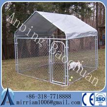 Baochuan-- stainless steel large dog cage lock /big dog cage/big dog kennels