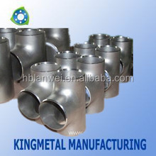 A234 WPB Equal tee for pipe line/carbon steel pipe fittings