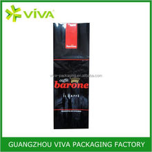 Manufacture varnishing plastic zip roast coffee pouches
