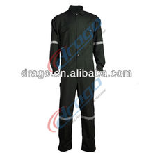 100% cotton fr water&oil repellent coverall for indusrty