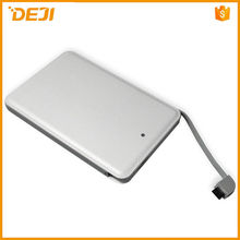 new prodoct 2015 rechargable 4000mah best quality credit card power bank