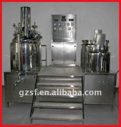 Automatic vacuum mixer for cosmetic