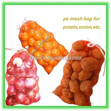 plastic onion leno bag fruit mesh net bag