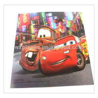 customized funny 3d print picture/3d lenticular picture