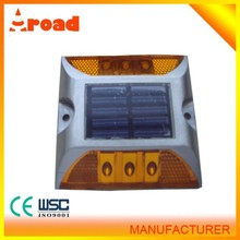 Hot sale high quality aluminum material wholesale solar power driveway marker