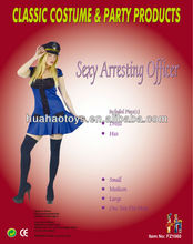 2014 Modern Blue Sexy Arresting Officer For Woman
