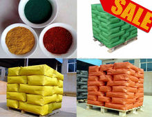 hot sale iron oxide pigments for cement with different colors